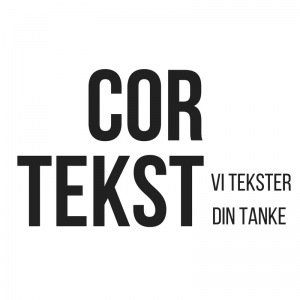 Cortekst | tekstforfatter, creative writing og korrekturlæser